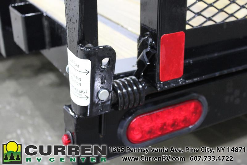 2020 SURE-TRAC ST8218TAT-B-070 Utility Trailer