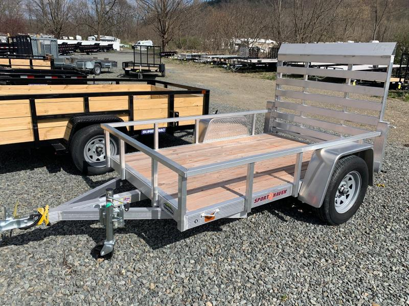 2019 SPORT HAVEN 5x8 Alumimum Utility Trailer