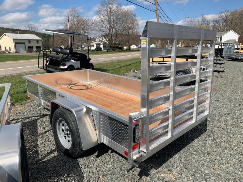 2020 SPORT HAVEN 5x10 Aluminum Utility Trailer with Diamond Plate Sides