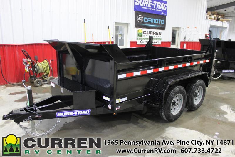 2020 SURE-TRAC 6x10 10k LP Dump Trailer with Ramps - ST7210D1R-B-100