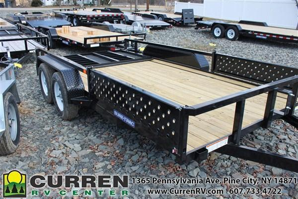 2019 SURE-TRAC ST8214TATTV-B-070 Utility Trailer