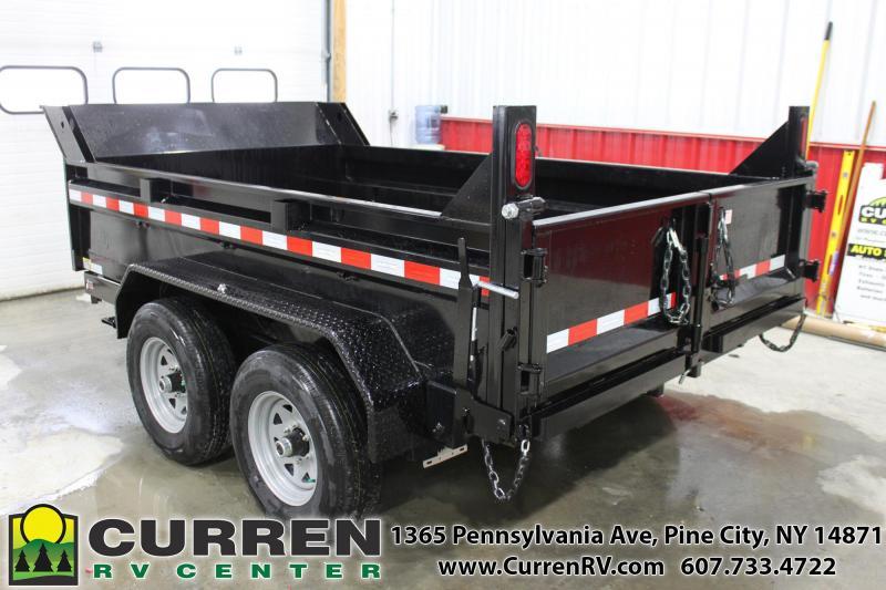 2020 SURE-TRAC ST7210D1R-B-100 Dump Trailer