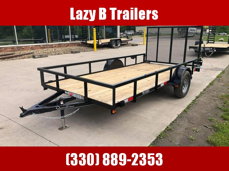 2020 Quality Trailers 14' Single Axle Utility Trailer