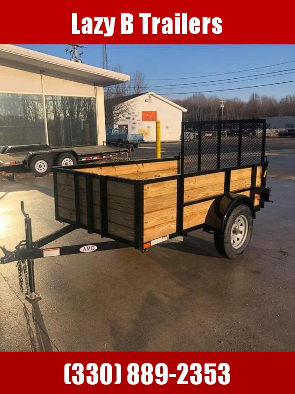 2020 American Manufacturing Operations (AMO) 5 x 8 Highsides Utility Trailer