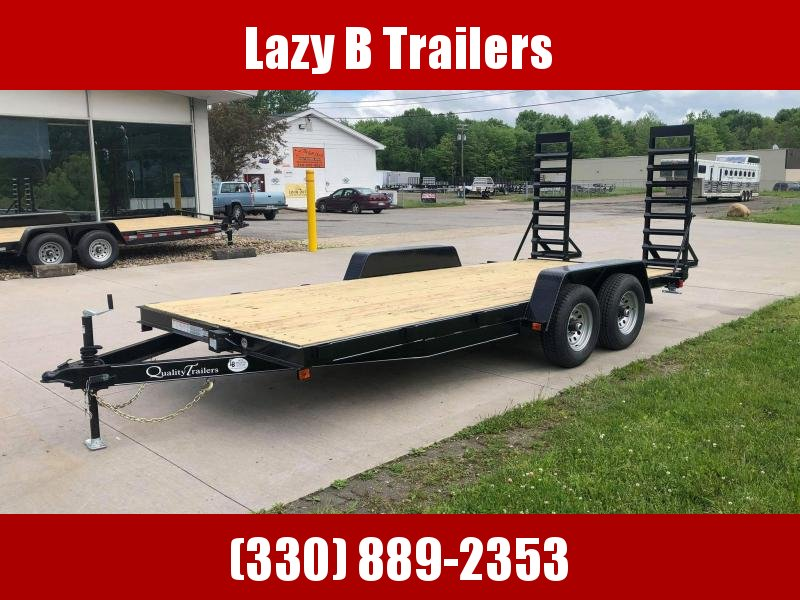 2021 Quality Trailers 18' Economy Equipment Trailer