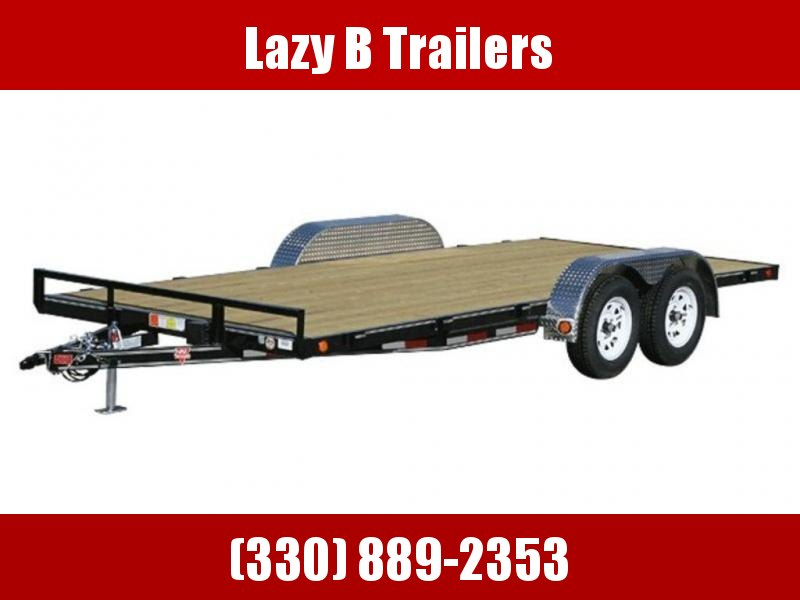 "2019 PJ Trailers 4"" Channel Carhauler (C4) 18'"