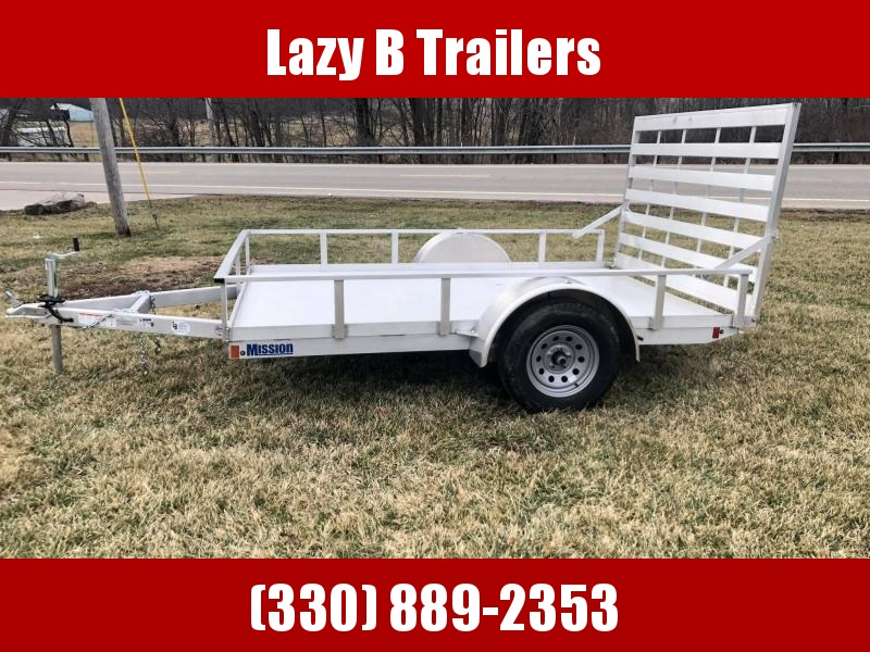 2020 Mission 10' Open Aluminum Utility Trailer