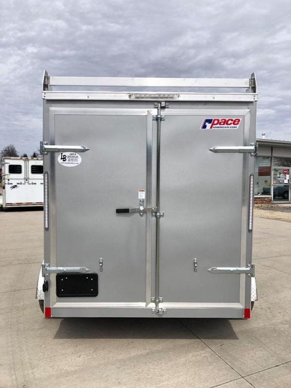 2021 Pace American 6 x 12 Journey SE Enclosed Cargo Trailer