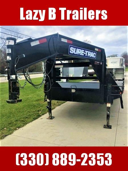 2018 Sure-Trac 25' Gooseneck Deckover