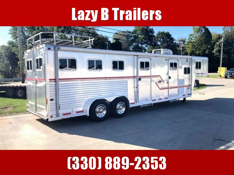 1995 Featherlite 3 Horse Living Quarters Horse Trailer