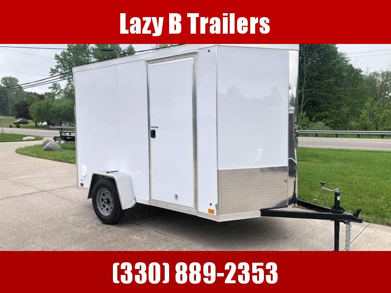 2021 Cross Trailers 6 x 10 w/ Ramp Enclosed Cargo Trailer