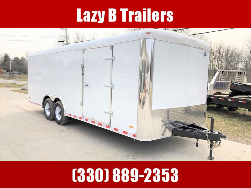 2019 MTI 22' Enclosed Car Hauler Cargo Trailer