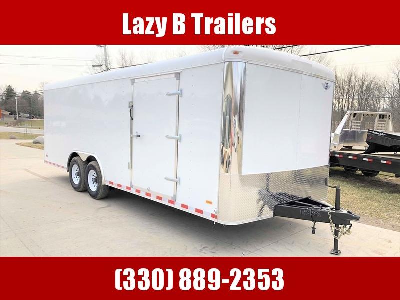 2019 MTI 8.5' X 22' Enclosed Car Hauler/Cargo Trailer
