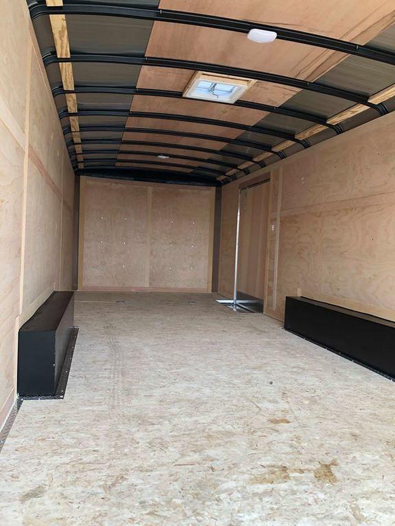 2019 MTI 22' Enclosed Car Hauler Cargo Trailer