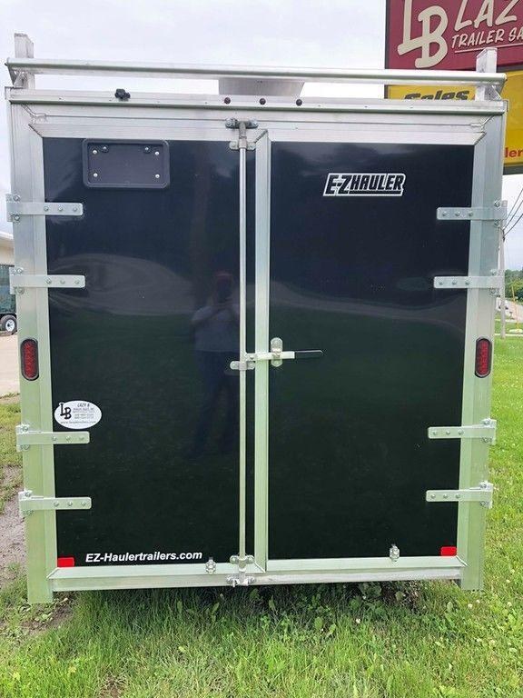 2019 E-Z Hauler 16' Aluminum Enclosed Contractor Cargo Trailer