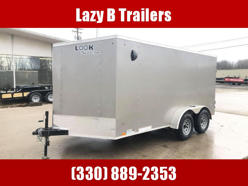 2020 Look Trailers 7x14 Enclosed Cargo w/ Ramp Enclosed Cargo Trailer