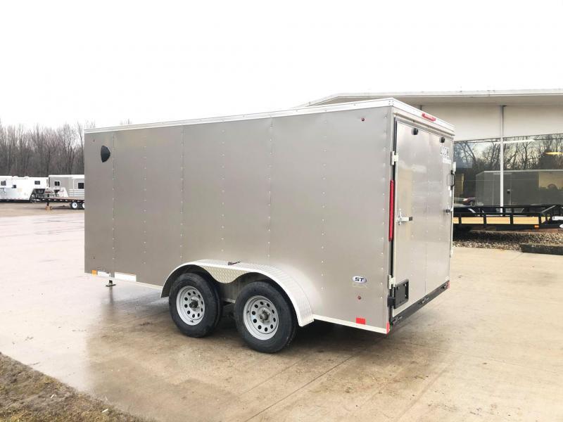 2020 Look Trailers 7x14 Enclosed Cargo w/ Ramp Enclosed Cargo Trailer