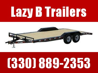 "2020 PJ Trailers 5"" Channel Buggy Hauler (B5) 20' Trailer"
