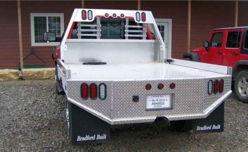 Bradford Built Aluminum Work Bed