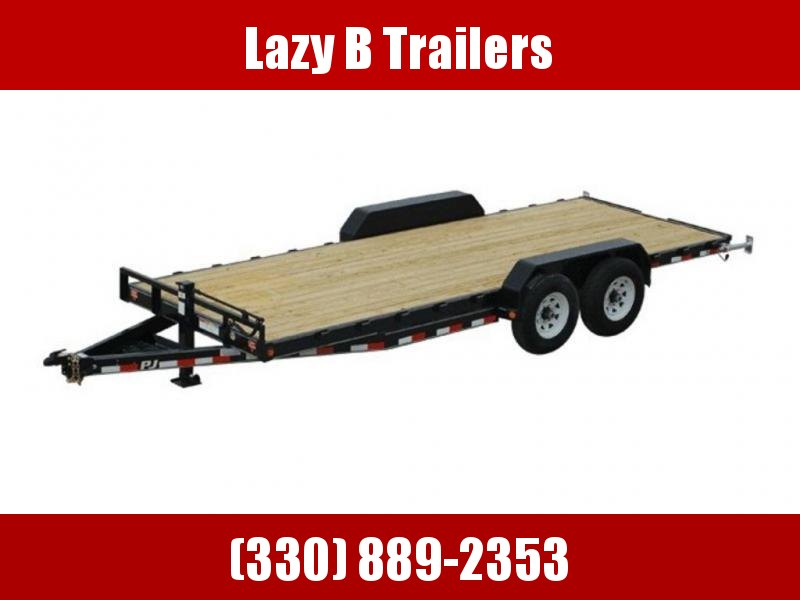 "2020 PJ Trailers 6"" Channel Equipment (CC) 20' Trailer"