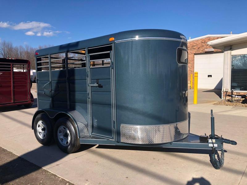2020 Calico Trailers 12' Bumper Pull Livestock Trailer