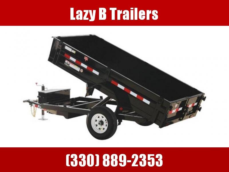 "2019 PJ Trailers 60"" Utility Dump (D5) 8' Trailer"