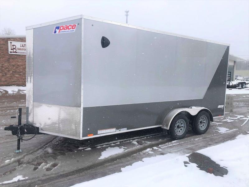 2020 Pace American 7x16 Journey SE w/ Ramp Enclosed Cargo Trailer