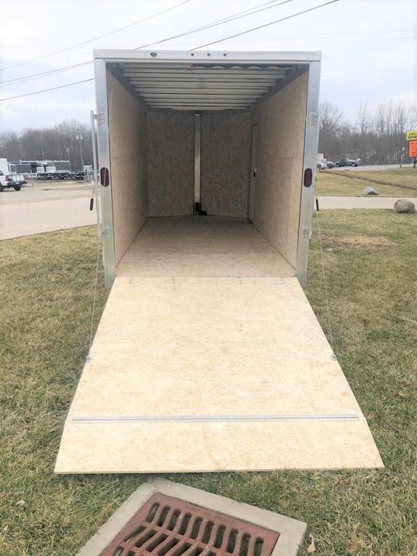 2019 E-Z Hauler 16' Enclosed Cargo Trailer