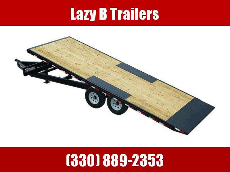 2020 PJ Trailers Deckover Tilt (T8) 22' Trailer