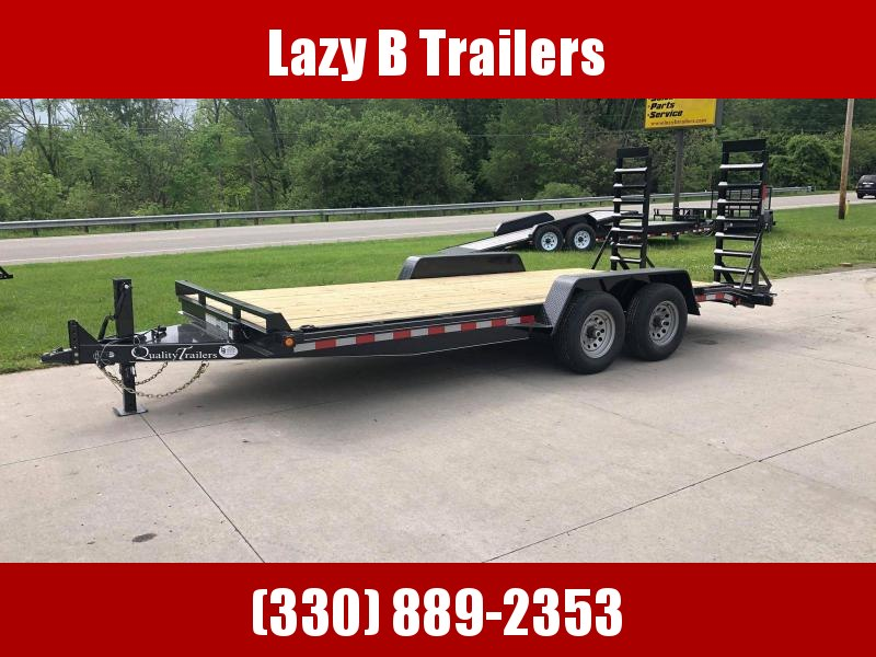 2021 Quality Trailers 18' PRO Series Equipment Trailer