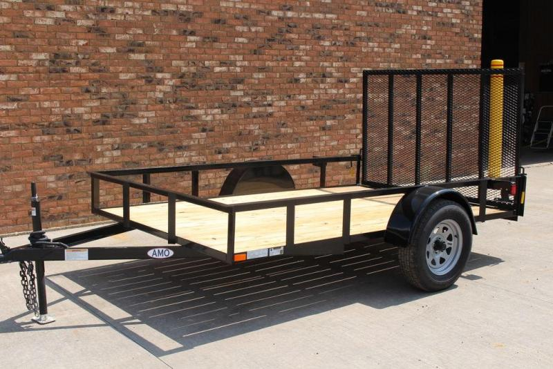 2020 AMO 6x10 Single Axle Utility Trailer