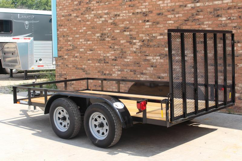 2020 American Manufacturing Operations (AMO) 6 x 12 Utility Trailer