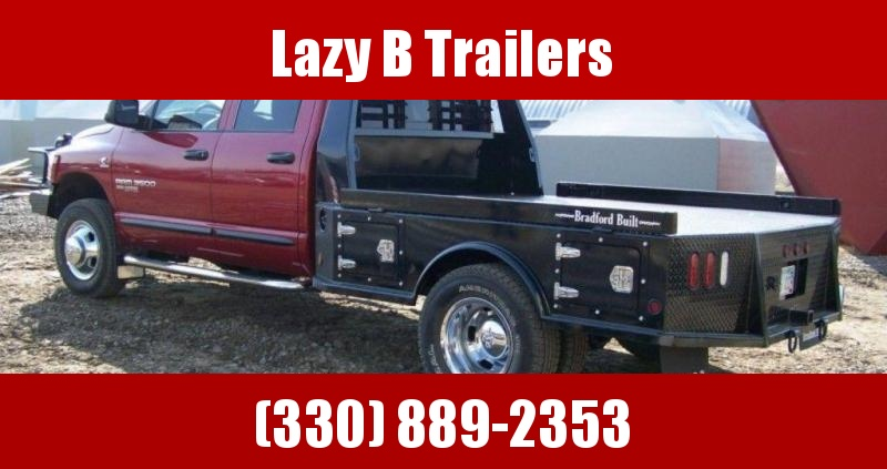 Bradford Built Steel 4-Box Utility Truck Bed
