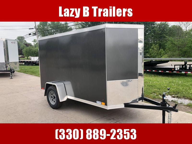 2021 Cross Trailers 5X10 w/ Ramp Enclosed Cargo Trailer
