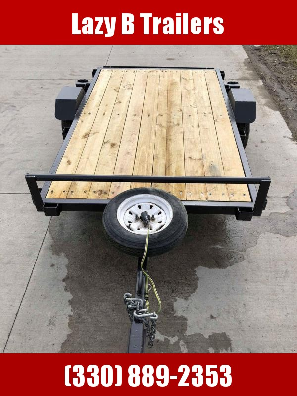 2018 Homemade 5x8 Open Utility Trailer