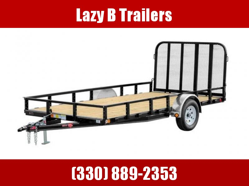 "2019 PJ Trailers 83"" Single Axle Channel Utility (U8) 14'"