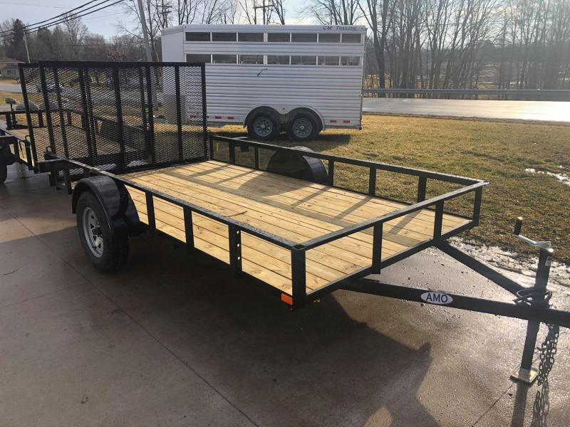 2020 American Manufacturing Operations (AMO) 6 x 14 Utility Trailer