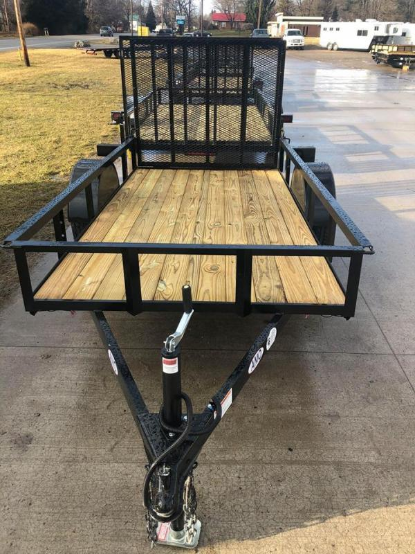 2020 American Manufacturing Operations (AMO) 5 x 10 Utility Trailer