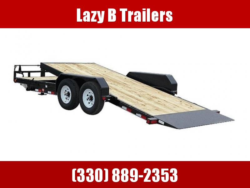 "2019 PJ Trailers 6"" Channel Equipment Tilt (T6) 22' Trailer"