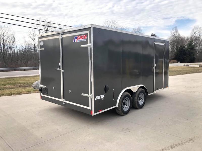 "2021 Pace American 8'5"" x 16' Enclosed Cargo Trailer Enclosed Cargo Trailer"