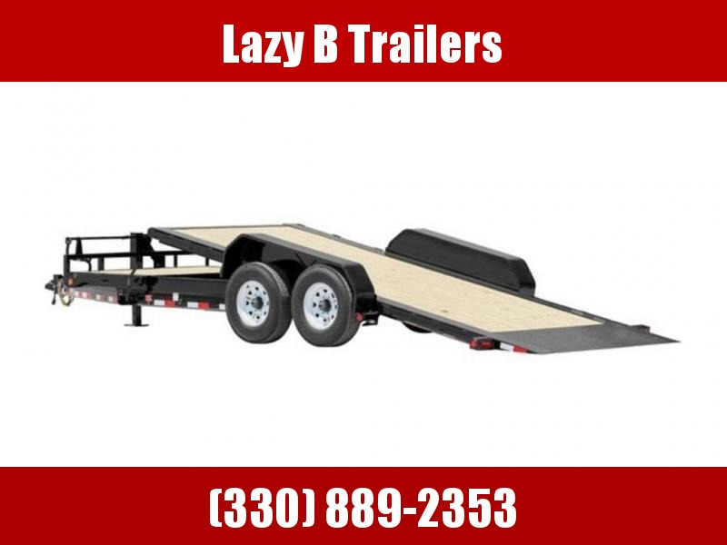 "2019 PJ Trailers HD Equipment Tilt 6"" Channel (TJ) 22' Trailer"