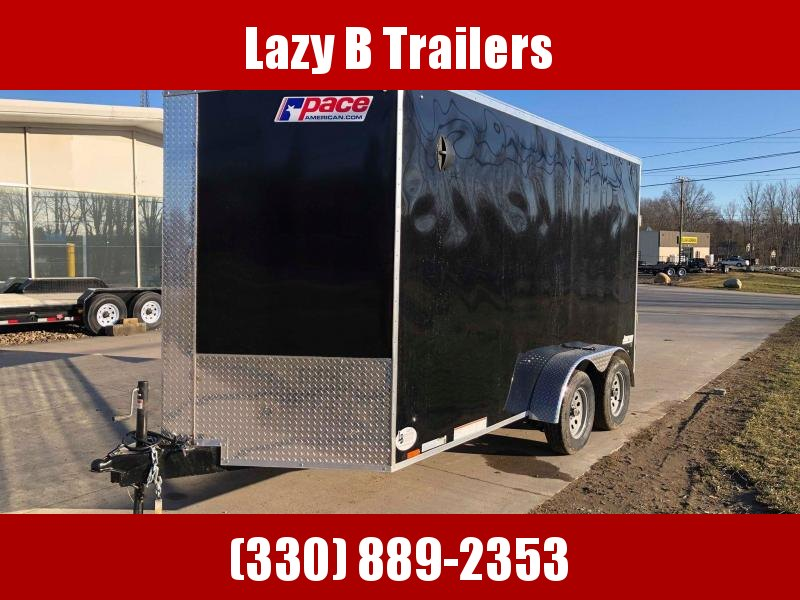 2021 Pace American 7x14 Journey SE w/ Ramp Enclosed Cargo Trailer