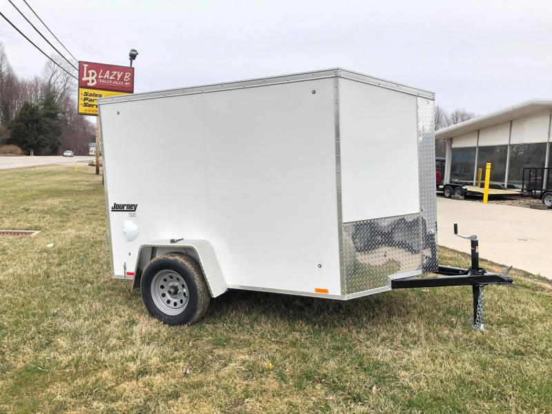 2021 Pace American 5 x 8 Enclosed Cargo Trailer