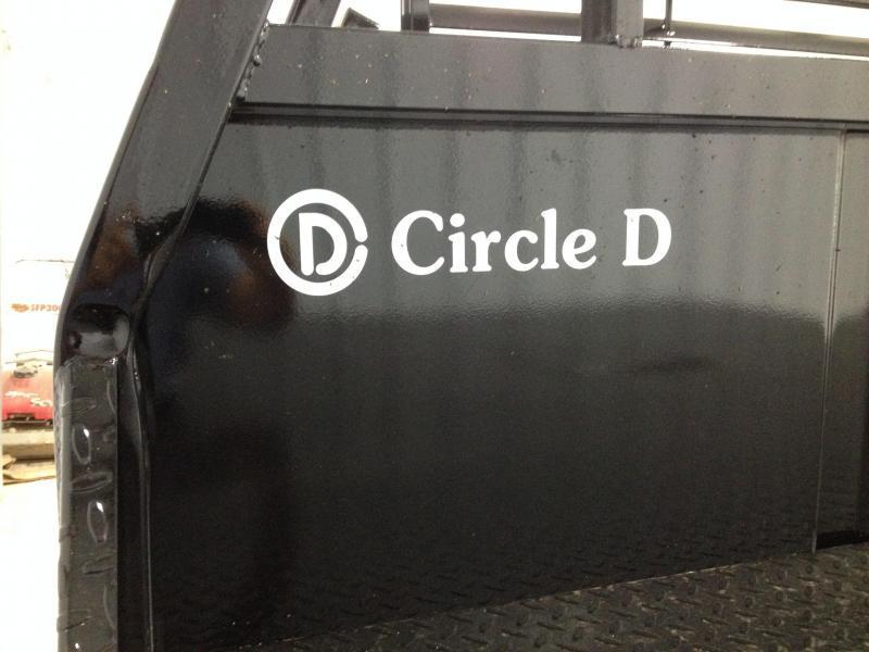 2018 Circle D Flat Bed 96x111 HD Truck Bed