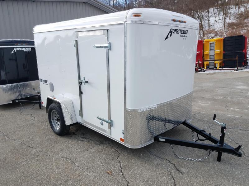 2019 Homesteader Trailer 6X10 Flat Nose Trailer Enclosed Cargo Trailer