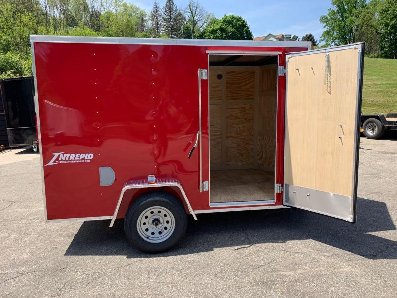 2019 Homesteader Trailer 6X10 V Nose Trailer Enclosed Cargo Trailer