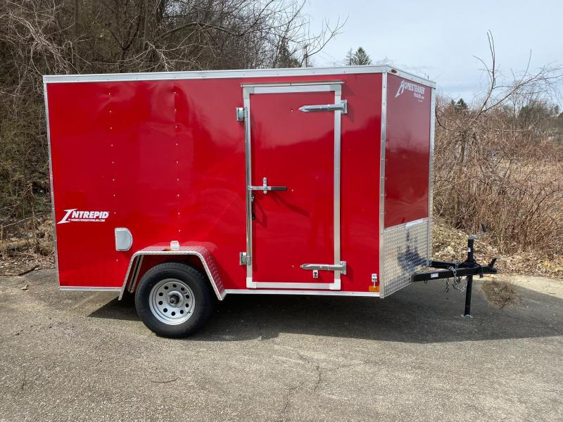2019 Homesteader 6'X10' V Nose Trailer Enclosed Cargo Trailer