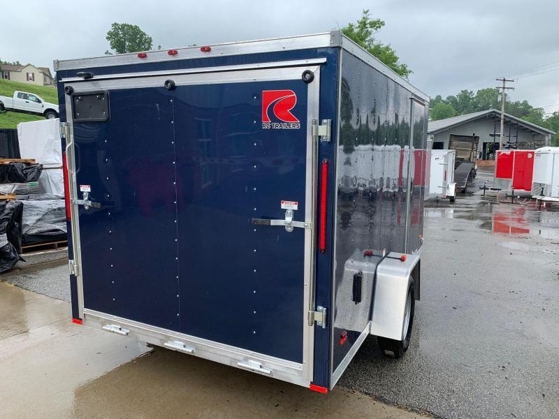 2019 RC ALUMINUM Trailer 7X12 V Nose Trailer Enclosed Cargo Trailer