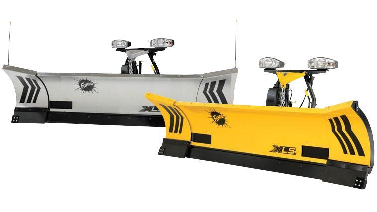 2019 Fisher XLS SS 8ft-10ft Snow Plow