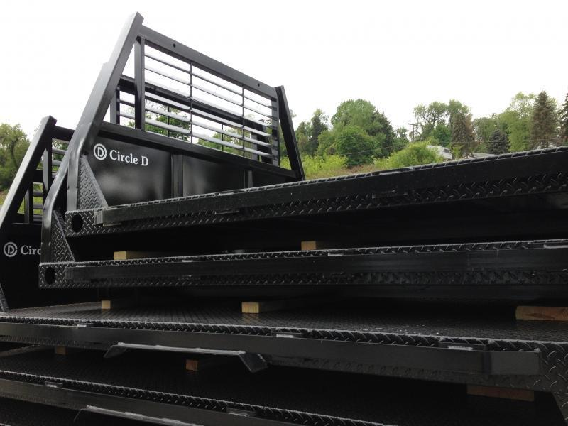 2018 Circle D Deluxe Flat Bed 96 x 111Truck Bed